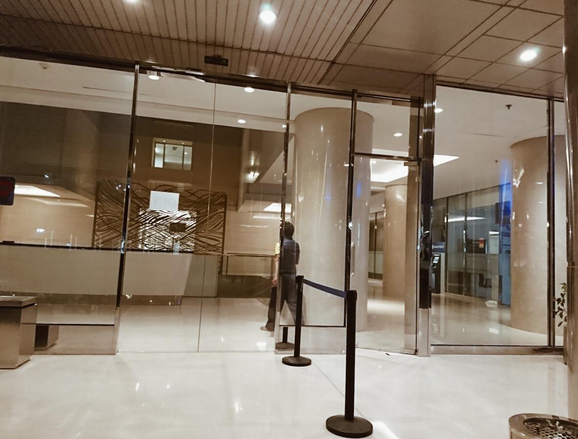 Pintu Otomatis : Plaza Bank Index Jkt
