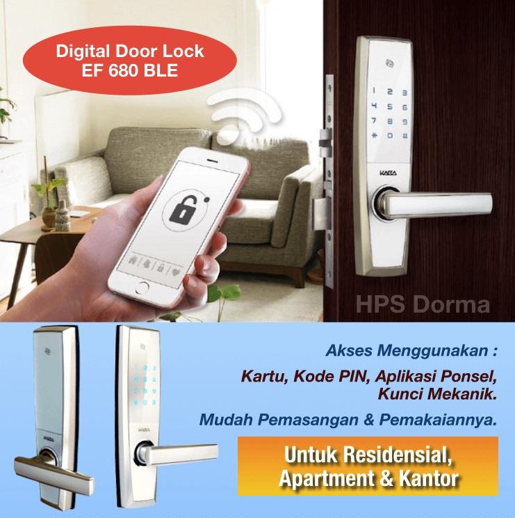 EF 680 : Digital Door Lock dengan Koneksi Blue Tooth