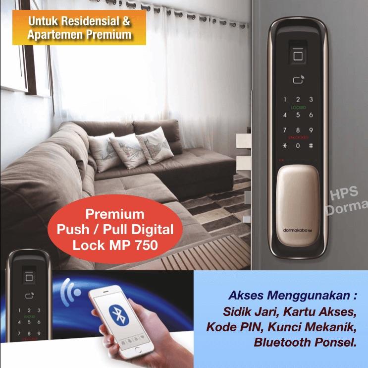 Push Pull Digital Door Lock dorma kaba MP 750 (Premium)